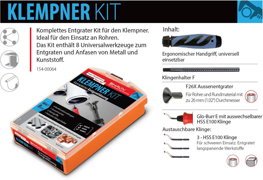 Shaviv Klempner Kit