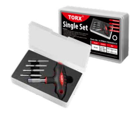 SLOKY Single Set Torx TX20-TX25