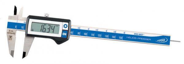 Helios-Preisser Taschenmessschieber DIGI-MET 150 mm
