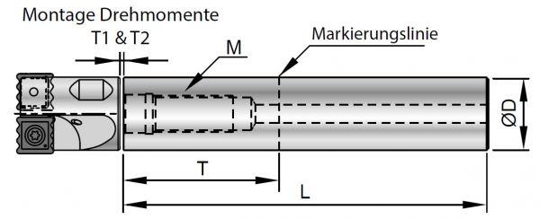 Nine9 Helix Drill Verlängerung Stahl