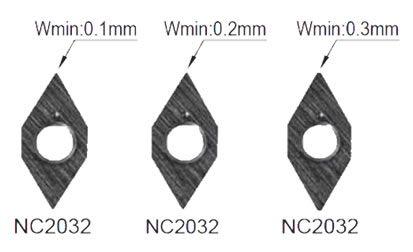 Gravierwendeschneidplatten Nine9 für Graviermaschinen