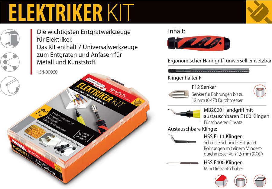 Shaviv Elektriker Kit