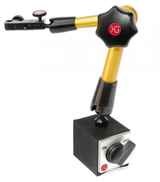 HG Messstativ hydraulisch 260 mm mit Magnetfuß, Messschnabel mit Feineinstellung