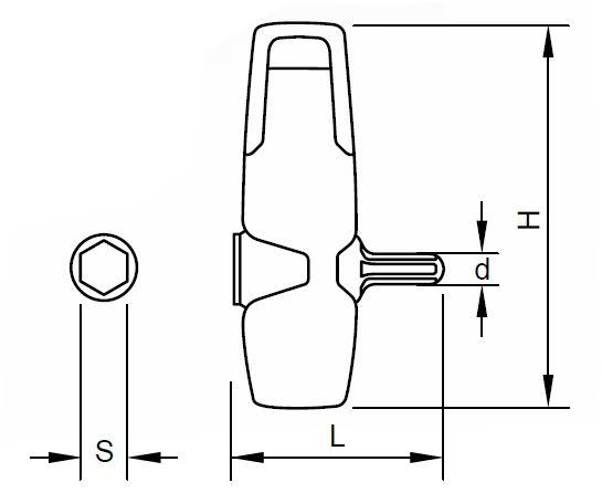 SLOKY Universal-Handgriff