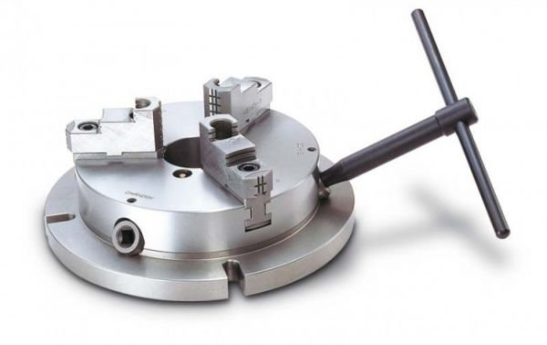 Chandox Drei-Backenfutter für Bohr- und Fräsmaschinen stationär