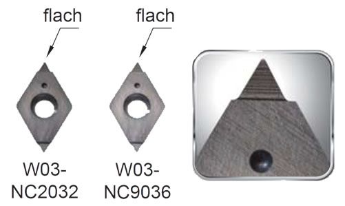 Nine9 Gravier Wendeschneidplatten