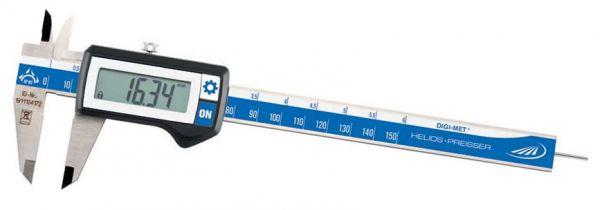 Helios-Preisser Taschenmessschieber DIGI-MET 150 mm IP67