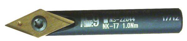 Gravierwerkzeughalter 45° OHNE Wendeschneidplatte