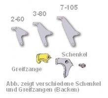 Schenkel / Greifbacken