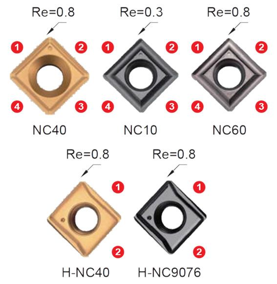 Nine9 Wendeschneidplatten N9MT11T3CT